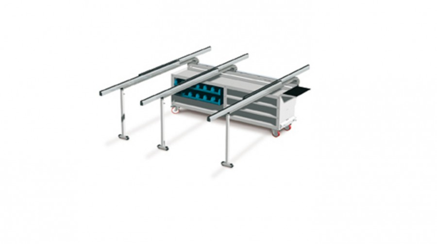 Table de travail type BANCO BPS-220