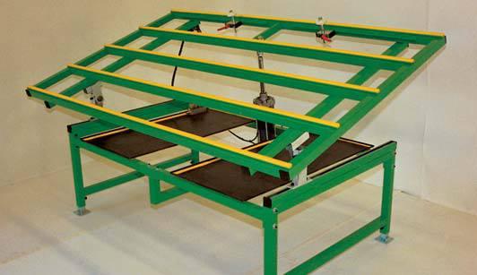 table de travail table travail inclinable sat k 2 sat k 3 wmc machines et conseils. Black Bedroom Furniture Sets. Home Design Ideas